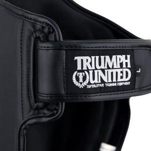 TU Tiger 1 Series Pro Muay Thai Shin Guards - Black - Triumph United