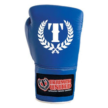 Load image into Gallery viewer, Triumph United Competition Boxing Gloves- BLUE