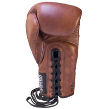 Load image into Gallery viewer, TU Vintage V1PER Boxing Gloves - Lace Up - Triumph United