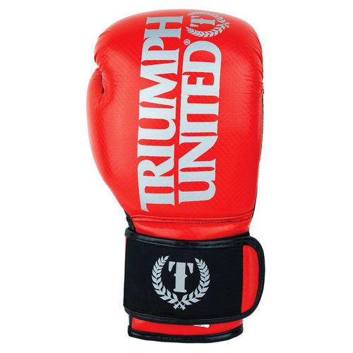 TU TBC Gloves - Red - Triumph United