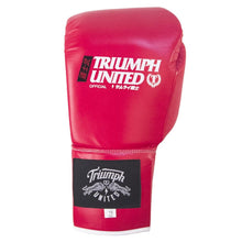 Load image into Gallery viewer, TU Bushido Elite Pro Glove- Lace Up- RED