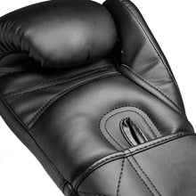 Load image into Gallery viewer, V1PER Series Boxing Gloves- Murdered Out VELCRO