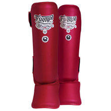 Load image into Gallery viewer, V1PER Series Shin Guards- RED