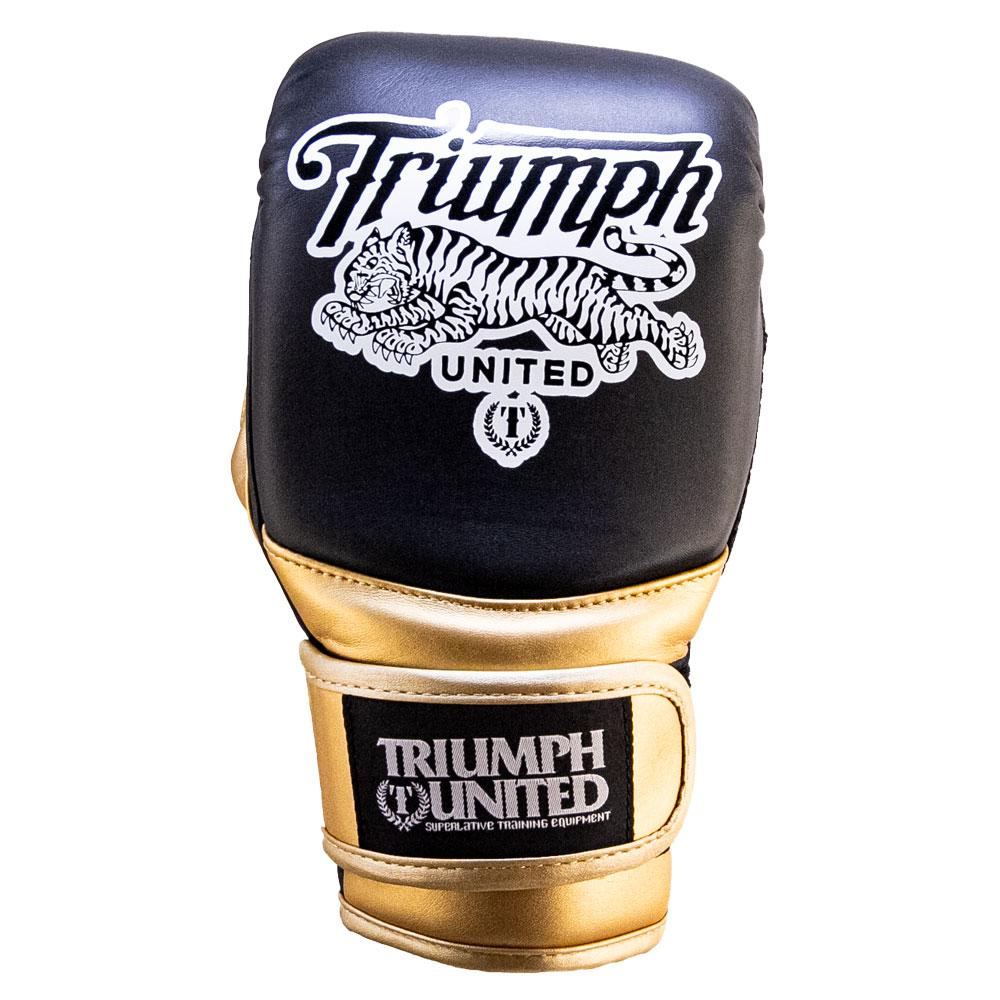 TU - V1PER Bag Gloves - Black & Gold - Triumph United