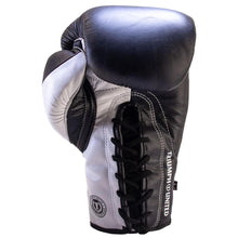 Load image into Gallery viewer, Death Adder Lace Up Sparring Glove - Black/White