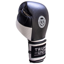 Load image into Gallery viewer, Death Adder Velcro Sparring Glove - Black/White