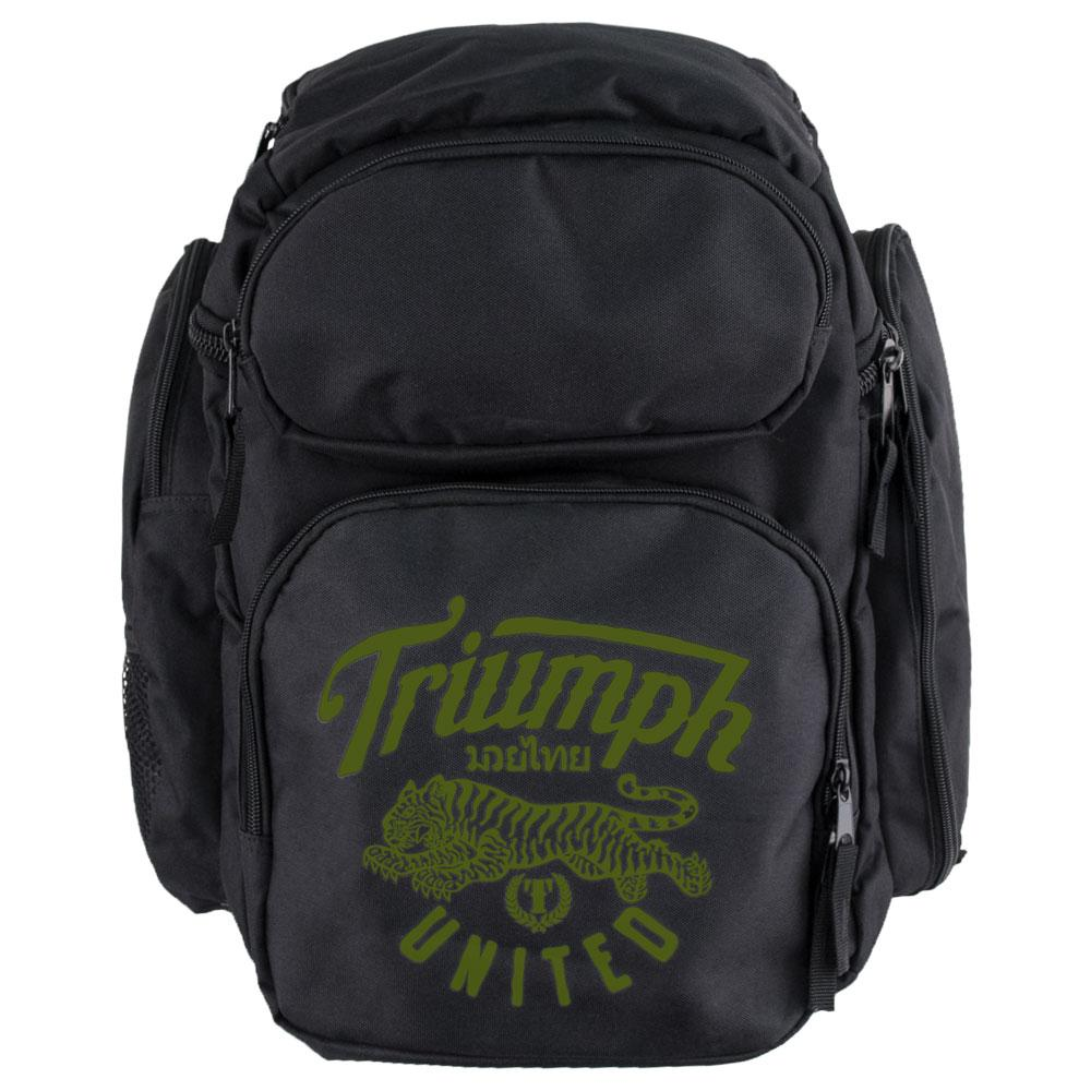 TU Recon 2.0 Backpack - Black/Green - Triumph United