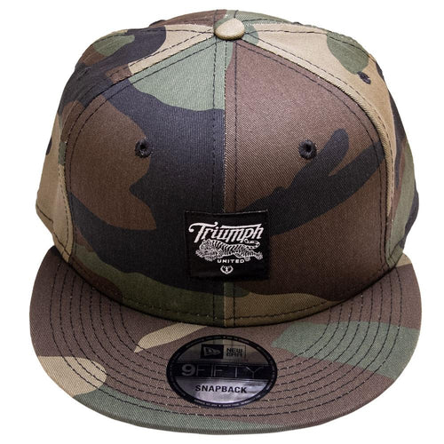 Triumph United New Era Snapback Hat - Camo