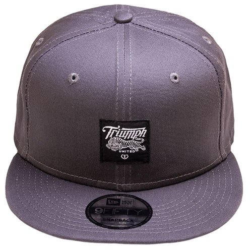 TU New Era Snapback - Charcoal - Triumph United