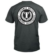 Load image into Gallery viewer, TU Stamp Premium Tee - CHARCOAL GREY - Triumph United