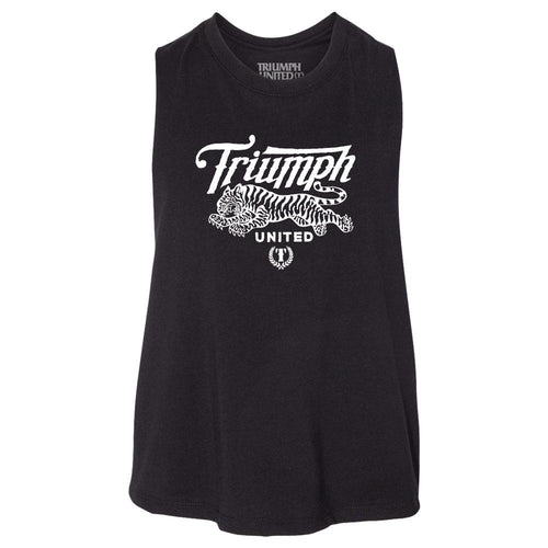 TU Uno High Neckline Tank- BLACK