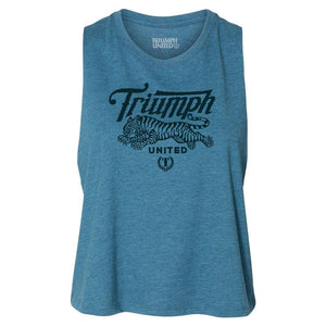 TU Uno High Neckline Tank- TEAL