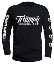 Load image into Gallery viewer, TU United Premium Long Sleeve Tee - Triumph United