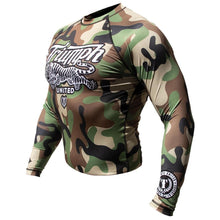 Load image into Gallery viewer, TU Long Sleeve Rashguard - Camo