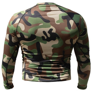 TU Long Sleeve Rashguard - Camo