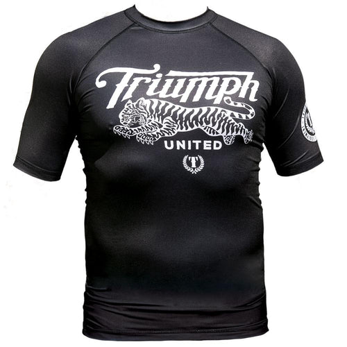 TU Short Sleeve Rashguard - Black