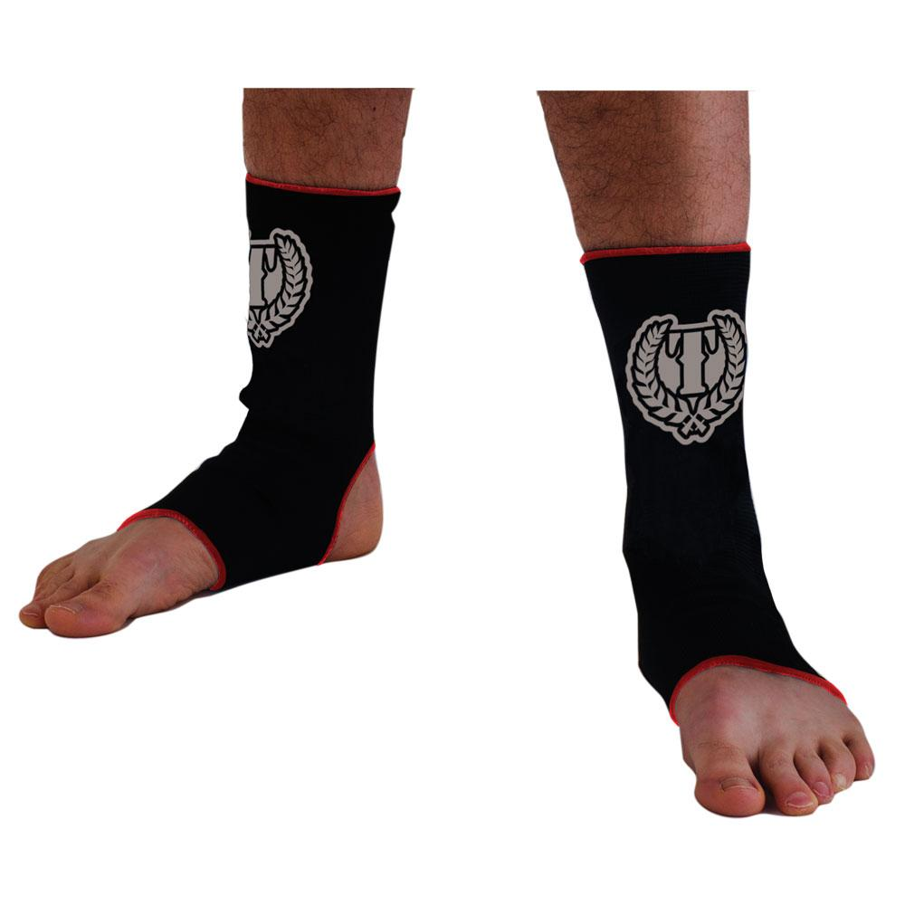 Standard Issue Ankle Wrap- black/red