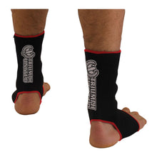 Load image into Gallery viewer, Standard Issue Ankle Wrap- black/red