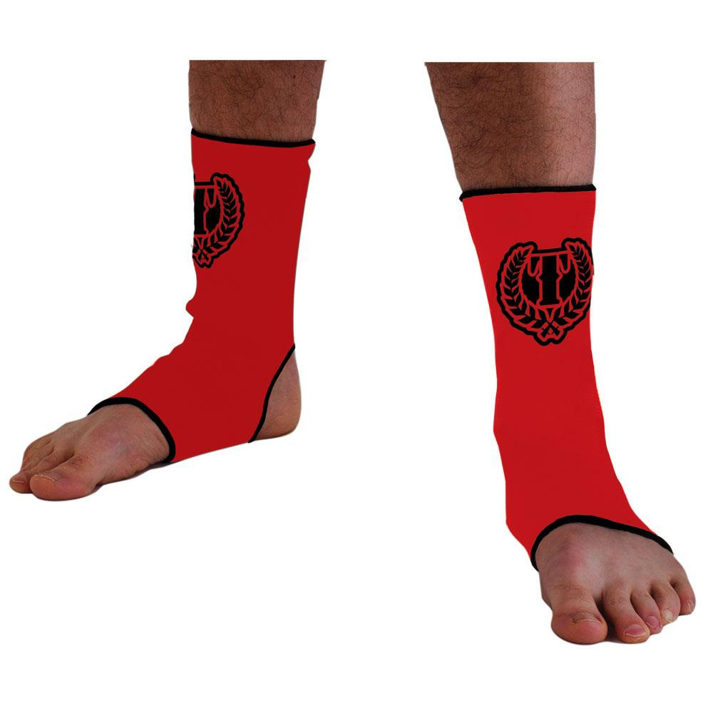 Standard Issue Ankle Wrap- red/black