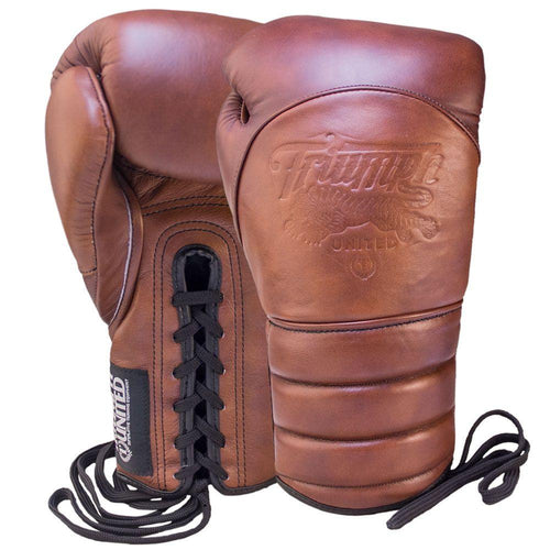 TU Vintage V1PER Boxing Gloves - Lace Up - Triumph United