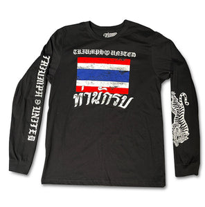 TU Victory Premium Long Sleeve Tee - Black
