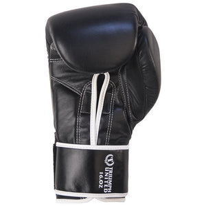 TU Bushido Elite Pro Gloves - Velcro - Black - Triumph United
