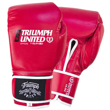 Load image into Gallery viewer, TU Bushido Elite Pro Glove- Velcro- RED