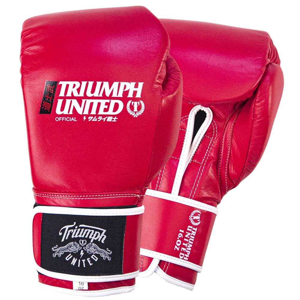 TU Bushido Elite Pro Glove- Velcro- RED