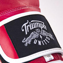 Load image into Gallery viewer, TU Bushido Elite Pro Glove - Velcro - Red - Triumph United