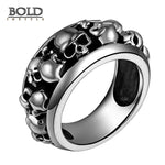 Gothic Real 925 Sterling Silver Ring-BOLD InStyle