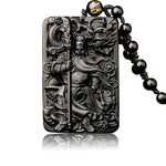 Dragon Guan Gong Knight Pendant Necklace-BOLD InStyle