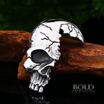 Broken Skull Stainless Steel Necklace-BOLD InStyle