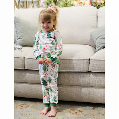 Kids Treeful Pajama Set