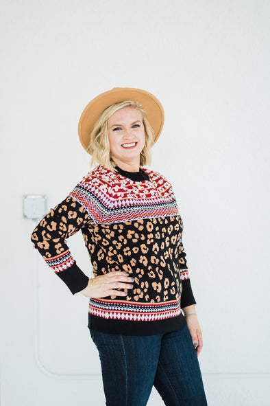 Swoon Leopard Sweater
