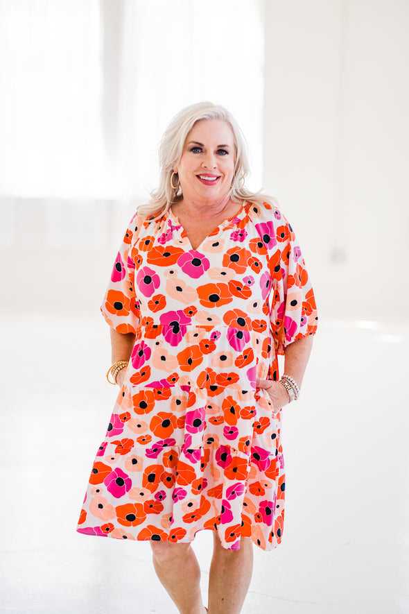 Celeste Midi Skirt in Leopard