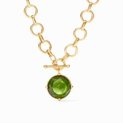 Julie Vos Honeybee Necklace-Jade Green