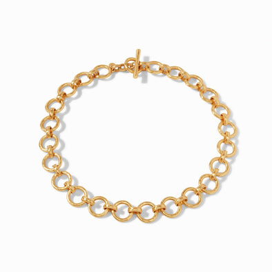 Savoy Demi Gold Link Necklace
