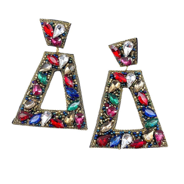 Penelope Multi Jeweled Earrings