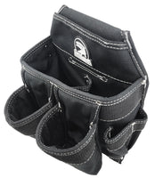 6-Pocket Contractor Pouch Black Model (discontinued) - Gatorback Tool Belts