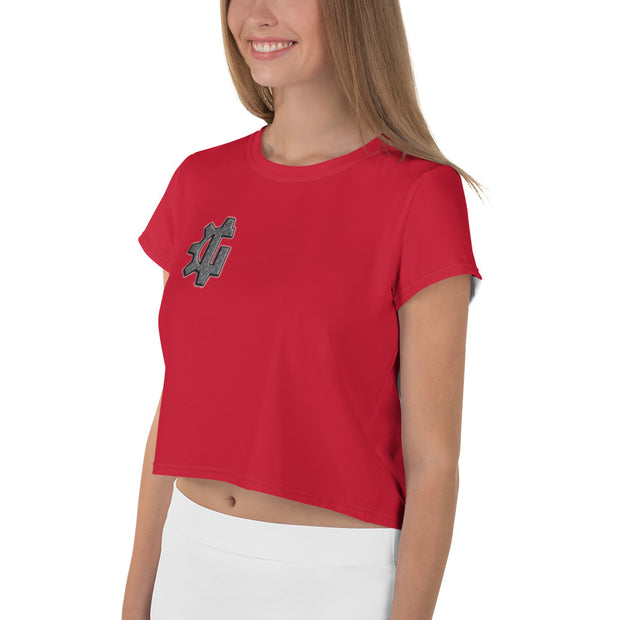 "The ""G"" in Grind Red Crop Tee"