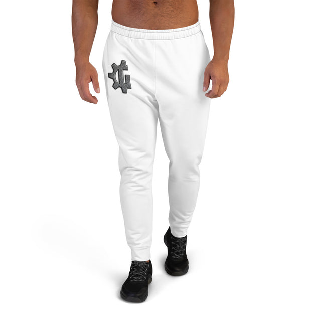 "The ""G"" in Grind White Men's Joggers"