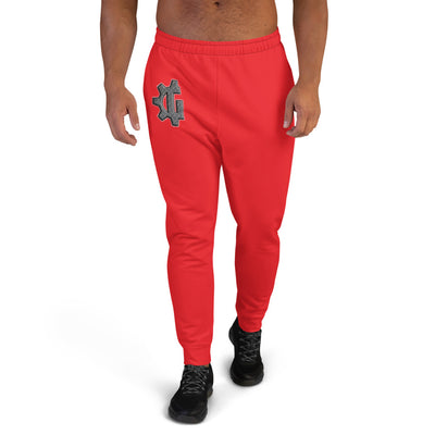 "The ""G' in Grind Red Men's Joggers"