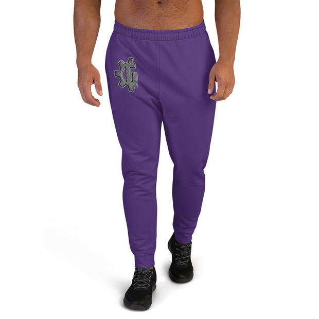 "The ""G"" in Grind Purple Men's Joggers"
