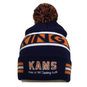 KAMS Pom Beanie Winter Hat