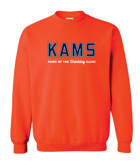 KAMS Logo Sweatshirt (Orange)