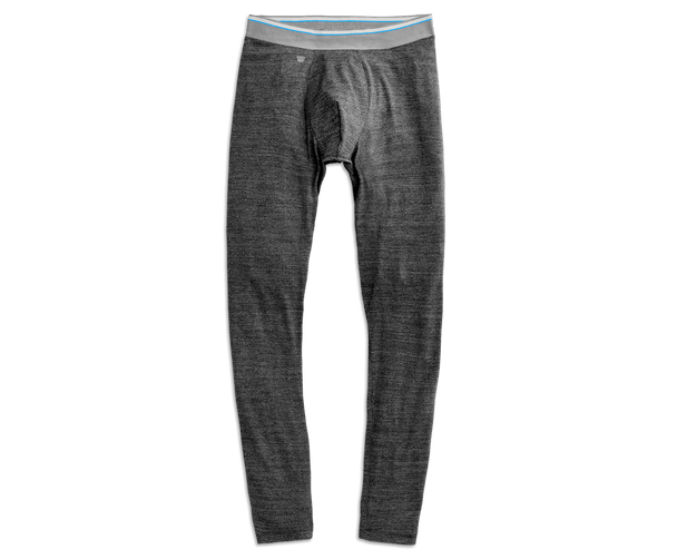 Charcoal Heather | Front view of AIRKNITx Performance Tights in Charcoal Heather