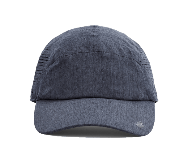 Total Eclipse | Front view of Airflex total eclipse blue hat