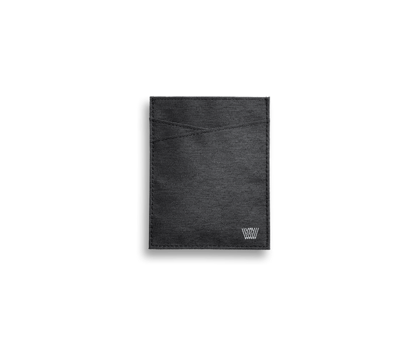 Black Sky | Front view of Black Sky Ion Passport Sleeve