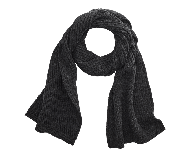 Nine Iron Heather | grey cashmere scarf