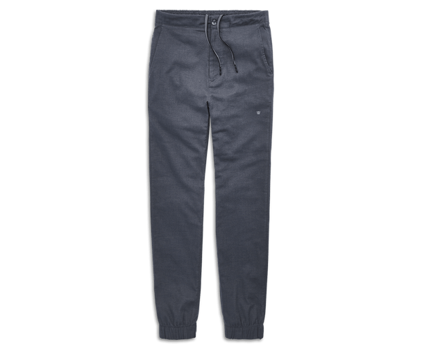 Navy Heather | Front view of Sunday Lounge Pant in Navy Heather